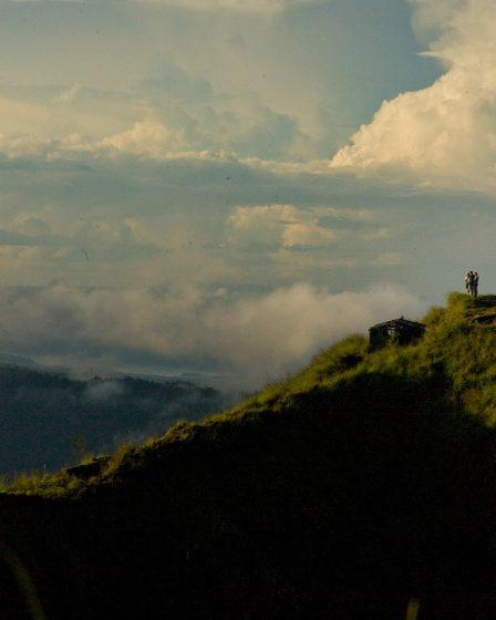 View from Mt Batur Bali