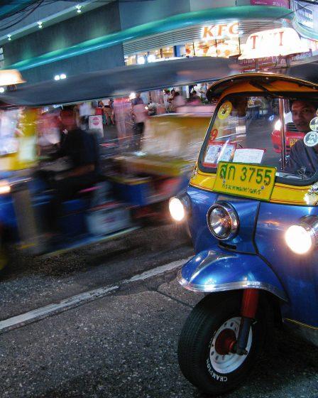 Image showing Tuk Tuk rental